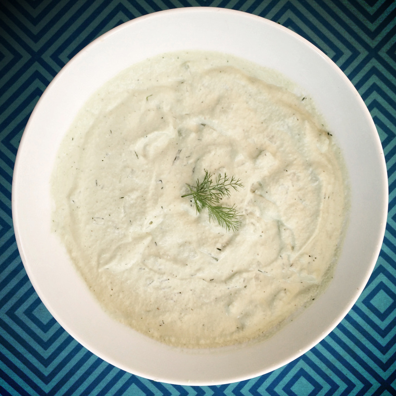 dairy-free tzatziki {wholly rooted}