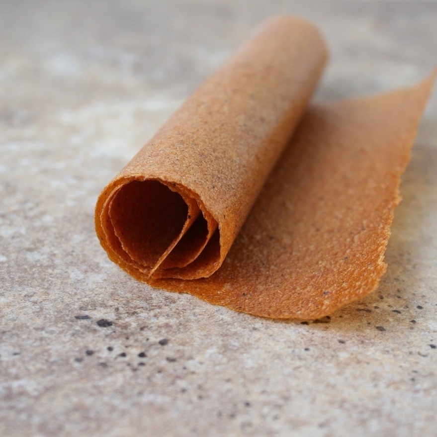 Vanilla Nectarine Fruit Leather {whollyrooted}